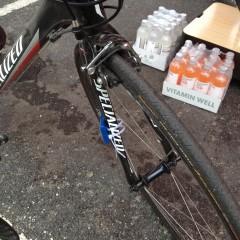 Endnu en låst cykel med tidsmåler